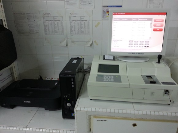 blood biochemistry analyser
